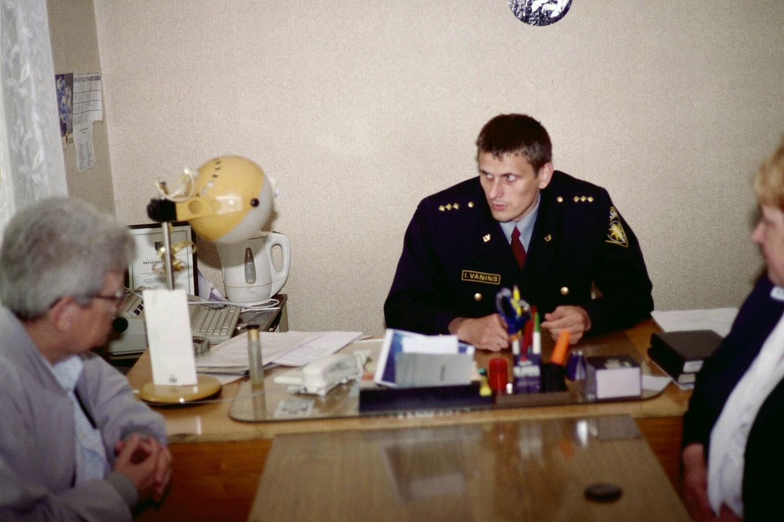 Besøg i Letland, foråret 2003