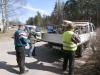 12 familier i Bikernieki distriktet i Letland modtager nødhjælp fra Østeuropæisk Børnehjælp i april 2016.