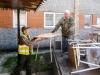 Randene Basic School i Kalkuni landdistrikt, Letland modtaber møbler fra Østeuropæisk Børnehjælp i april 2016.