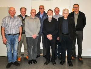 Den nye bestyrelse 2016