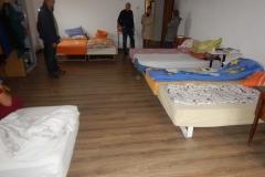 Boks madrasser i brug på Landbrugsskolen i Miroslava  fra transport nr.60 Juni 2018